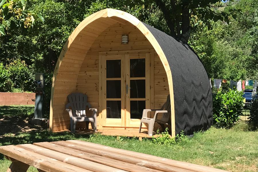 Camping, chalets, mobil homes Cévenne Ardéchoise