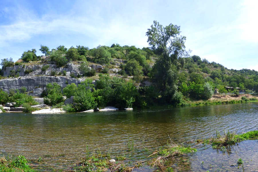 Camping, ch�lets, cottages et mobil-homes Ard�che M�ridionale