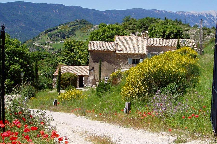 Maison d'hôtes et gîte de charme Montbrun-les-Bains