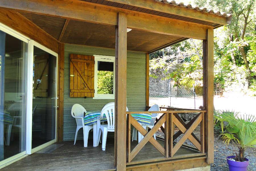 Location chalets et mobil-homes Sud Ardèche