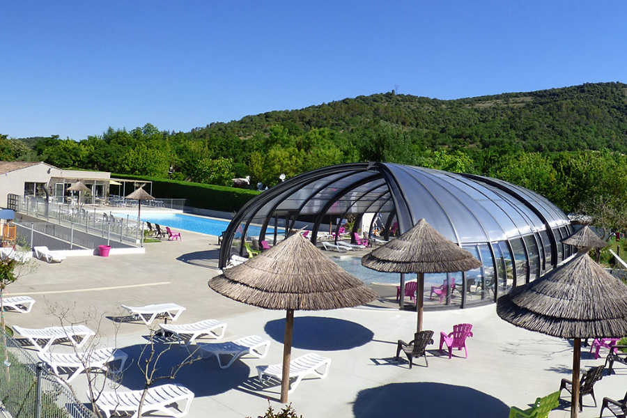 Camping, chalets et mobile-homes Vallon Pont d'Arc