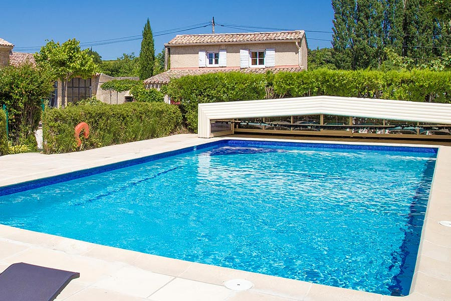 Chambres et table d 39 h tes orange pays d 39 avignon d 39 orange carpentras - Chambre dhotes orange piscine ...