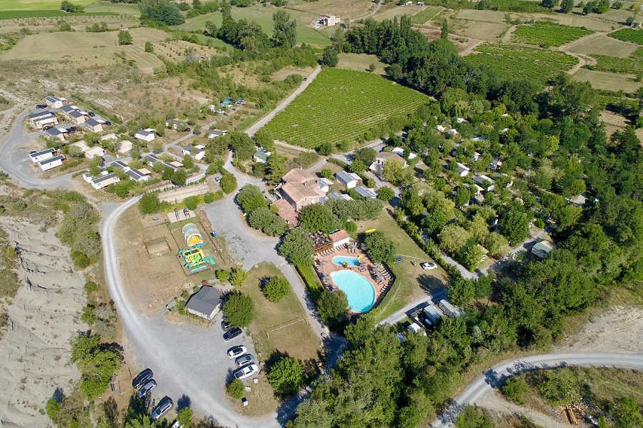Camping, mobil-homes, bungalows Moyen Vivarais