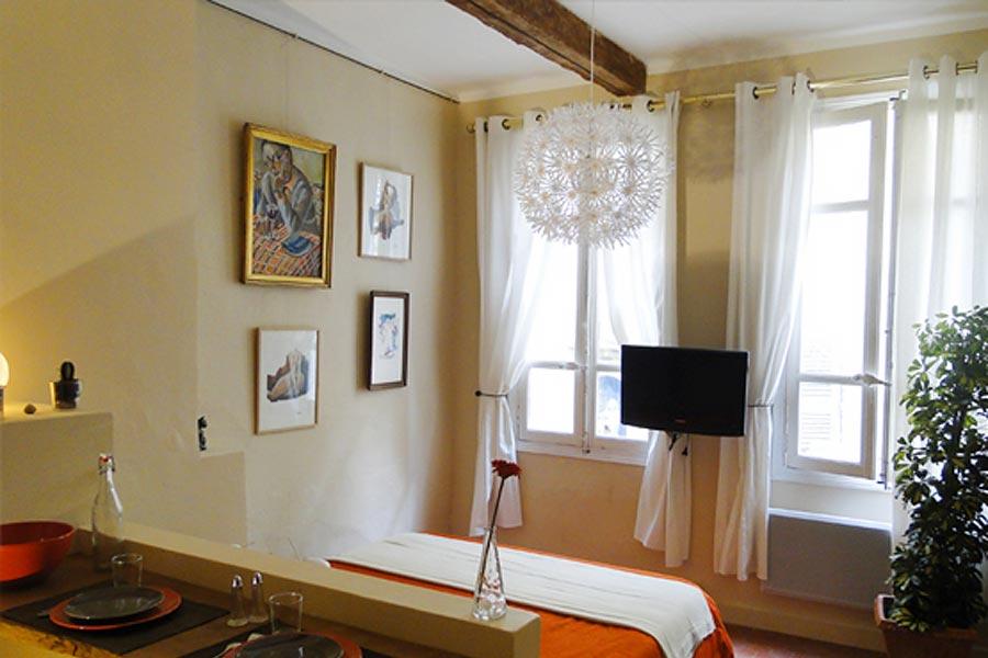 Locations appartements à la nuitée - à la semaine Avignon