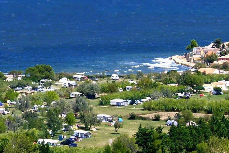 Camping, gites Côte d'Azur