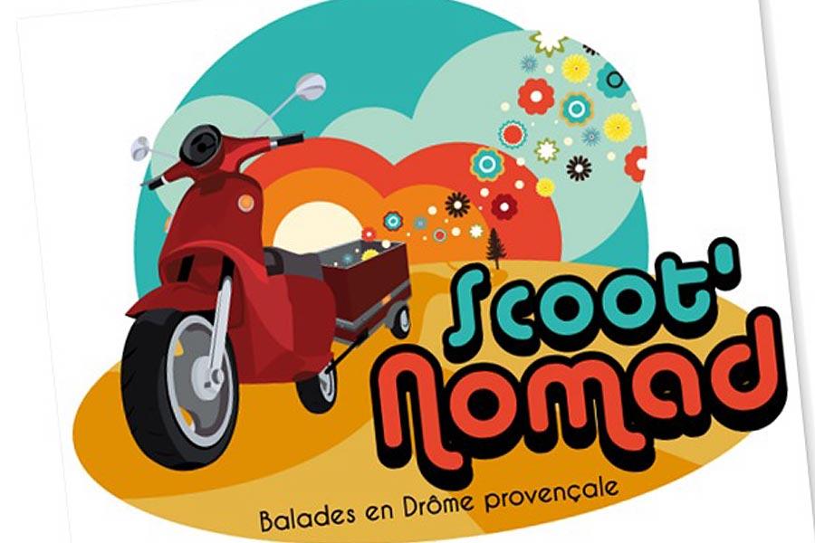 Balade en scooter Drôme Provençale