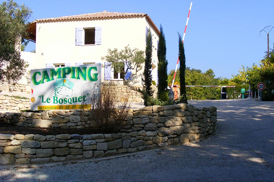 Camping, Locations Malaucène